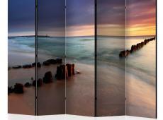 Paraván - beach - sunrise II [Room Dividers]